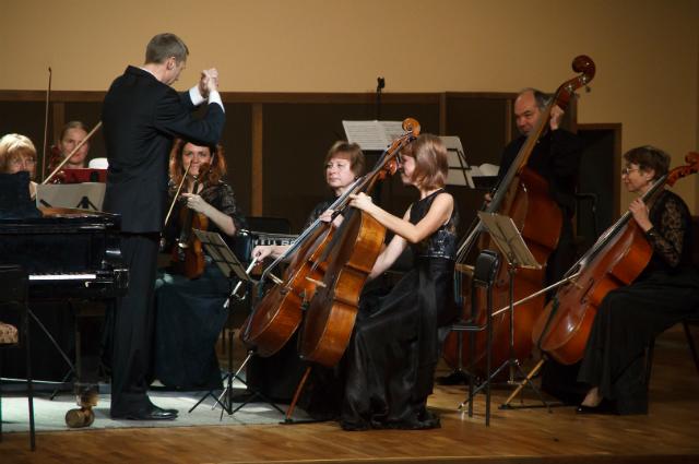 15 лет исполняется камерному оркестру филармонии