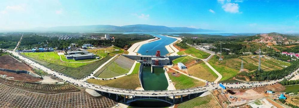 Стартовая точка центрального канала в провинции Сычуань.