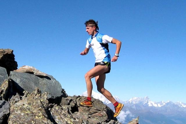 Михаил Рыбаков занимается горным бегом