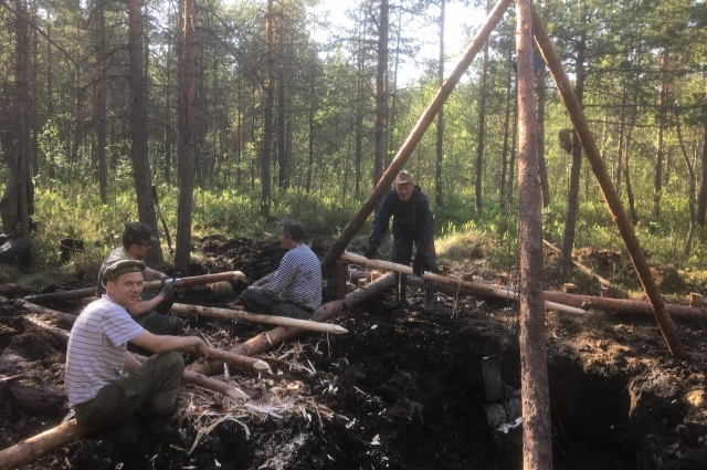Обломки самолета были найдены в Тосненском районе Ленинградской области.