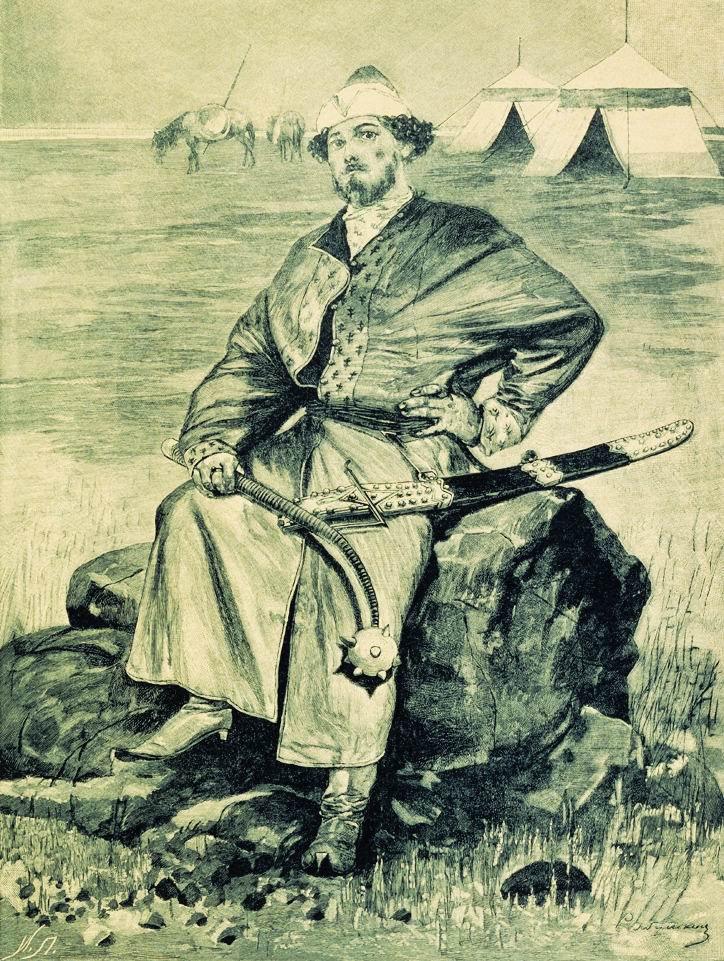 Алёша Попович. Иллюстрация к книге Русские былинные богатыри