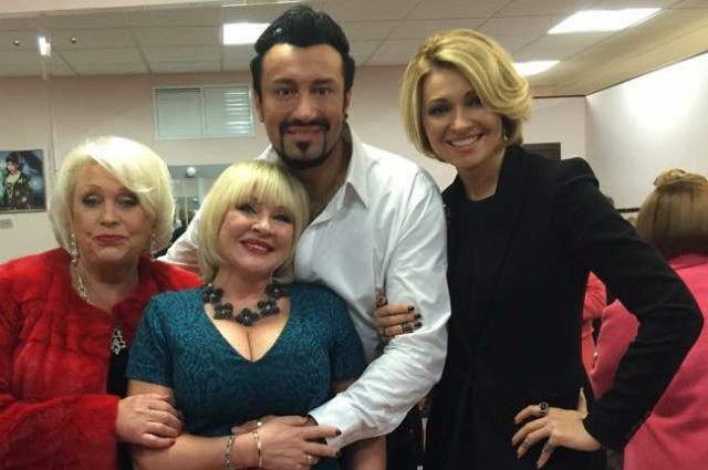 Ирина Грибулина с друзьями