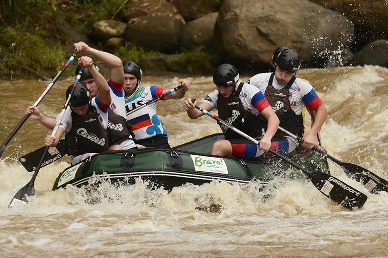 Наши ребята покорили индонезийские реки.