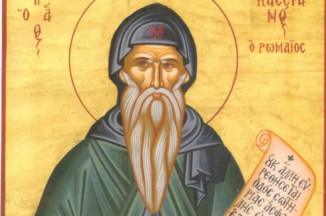 Святой Кассиан был известным теоретиком монашеской жизни.