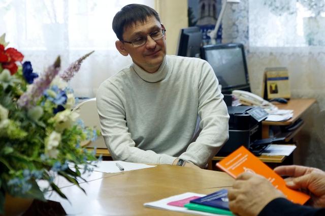 Фото с интервью.