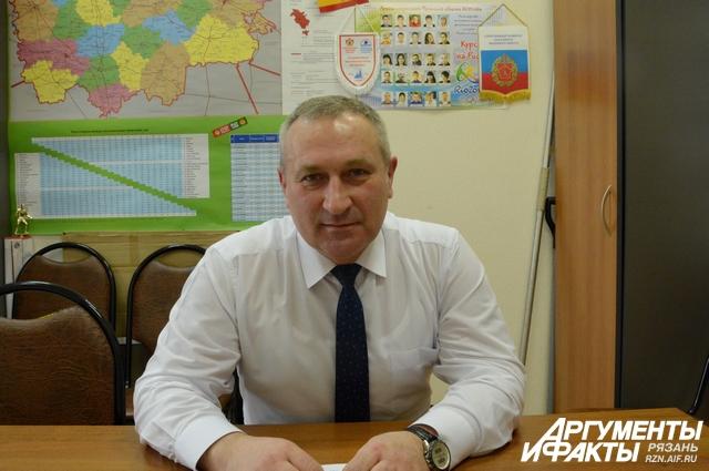 Заместитель министра молодежной политики, физической культуры и спорта Рязанской области Павел Гамзин.