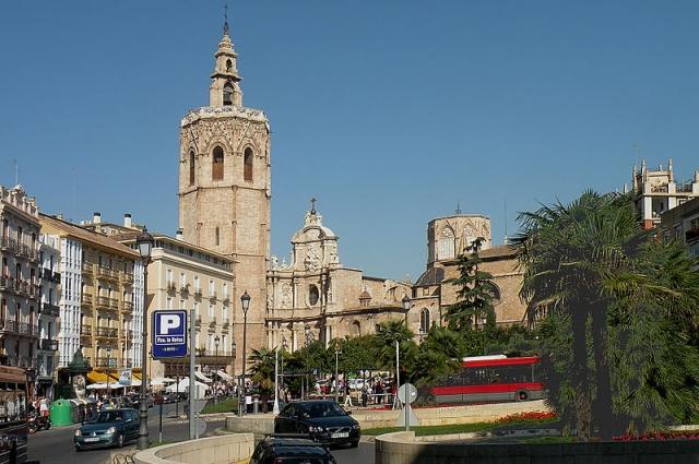 Королевская площадь Валенсии.