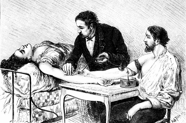 В начале XX века ученые открыли три группы крови, чуть позже была выделена и четвертая.
