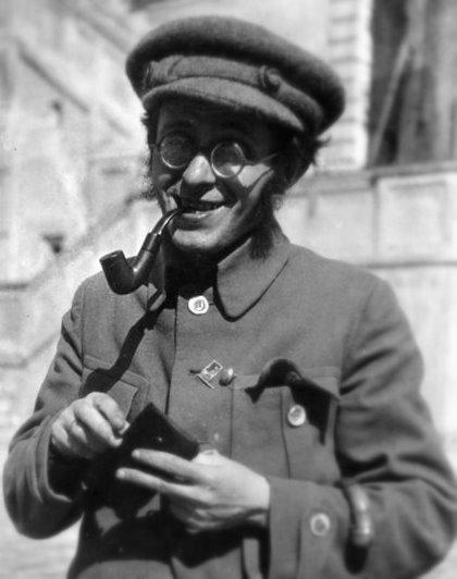 Карл Радек в 1925 году.
