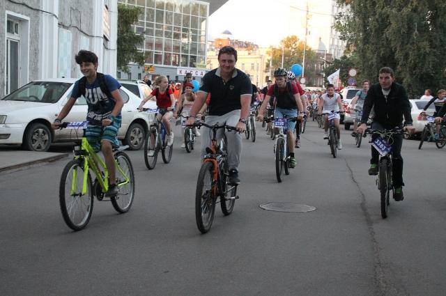 Все велосипедисты могут участвовать.