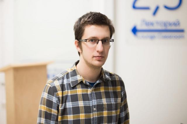 Петербургский студент Максим Аверин создал интерфейс приложения.