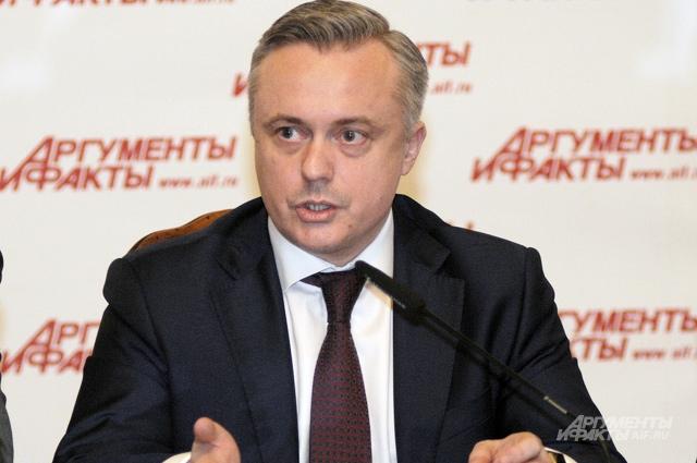 Гендиректор «АиФ» Руслан Новиков.