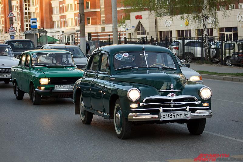 Организатором мероприятия стал автомобильный выставочный салон «Ретро-Гараж».