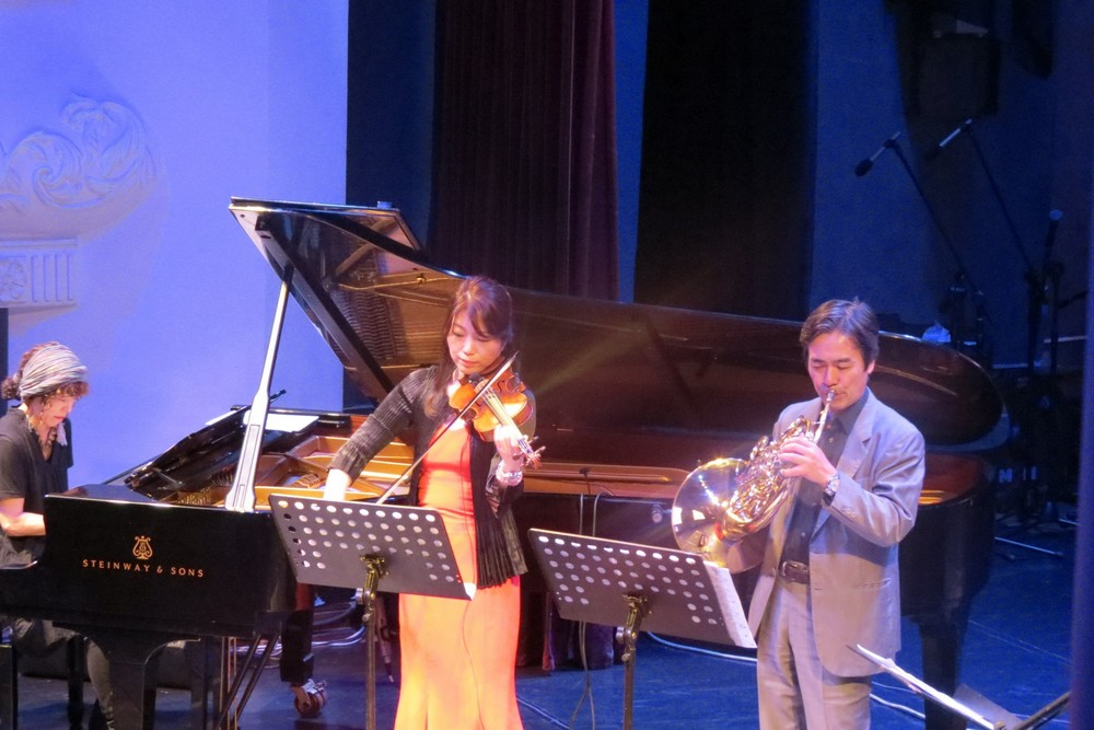 Гости из Японии подарили солнечную музыку.