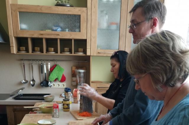 Кулинарный мастер-класс заинтересовал горожан.