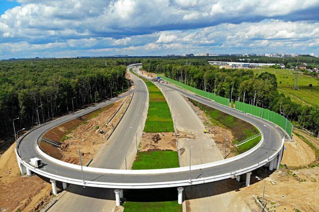 Разворотная эстакада на магистрали Солнцево - Бутово - Видное станет дублёром МКАД.