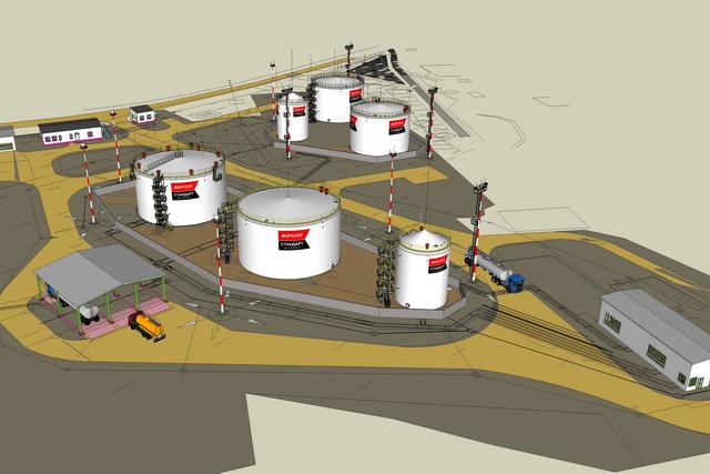 Таким будет нефтеперевалочный комплекс - проект в рамках ТОСЭР.
