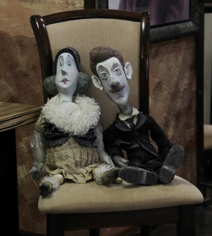 Обитатели музея театра кукол