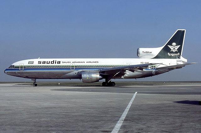 Lockheed L-1011-385-1-15 TriStar 200 авиакомпании Saudi Arabian Airlines, идентичный сгоревшему.
