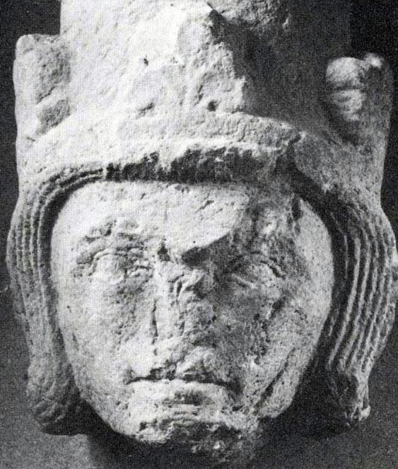 Эрик Шепелявый, фрагмент найден в Гудхемском аббатстве.