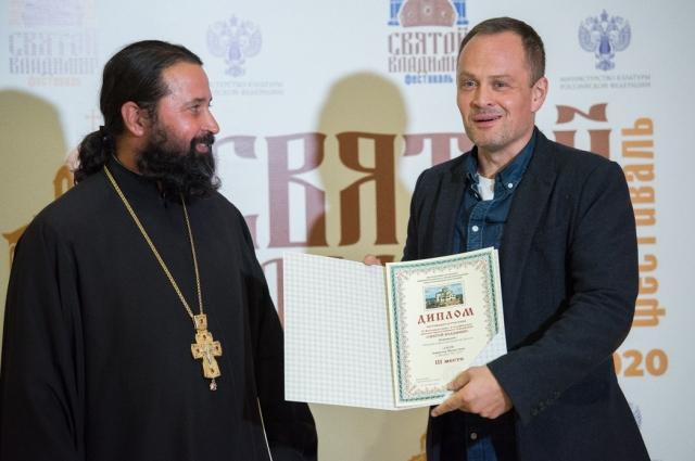 Протоиерей Стефан Флучинский и Михаил Евланов.