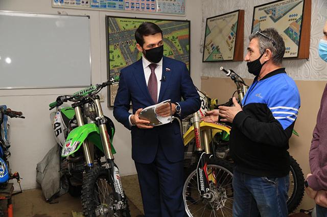 Трудности подготовки соревнований обсудили с депутатом ГД Александром Прокопьевым