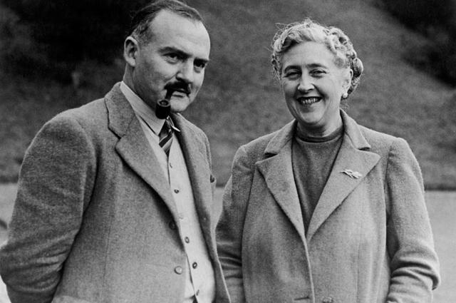 Агата Кристи с мужем Максом Маллоуэном. 1946 год