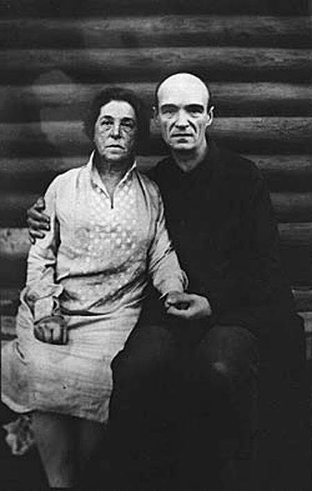 Павел Филонов с женой