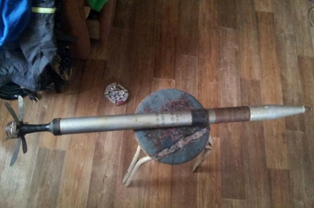 Та самая ракета с придорожной помойки.