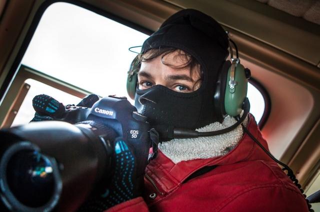 Дмитрий привык снимать в непростых условиях.