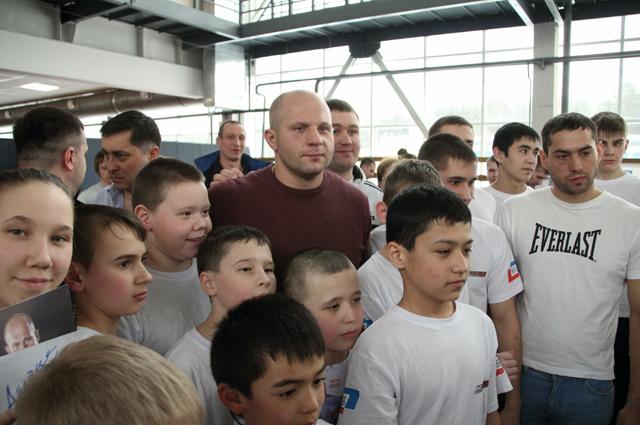 Федор Емельяненко в Челябинске.
