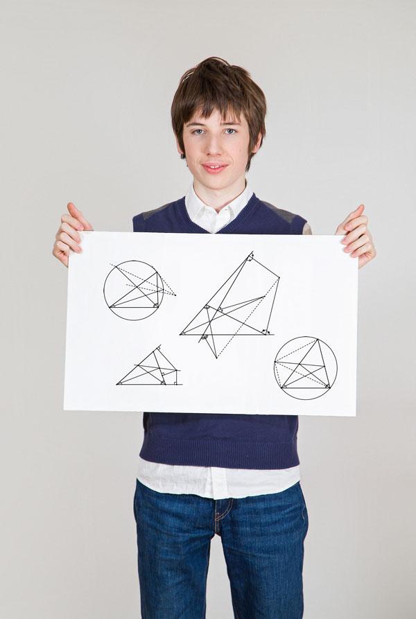 Иван Фролов с детства на «ты» с математикой.