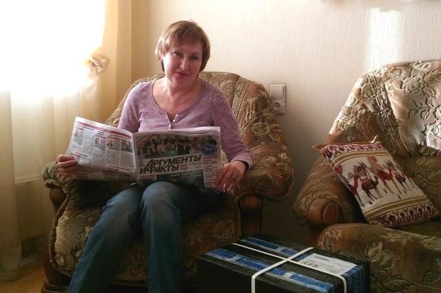 Бэлла Александровна любит читать статьи о здоровье и даче.