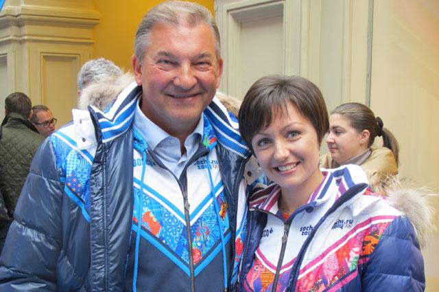 Владислав Третьяк и Анастасия Давыдова