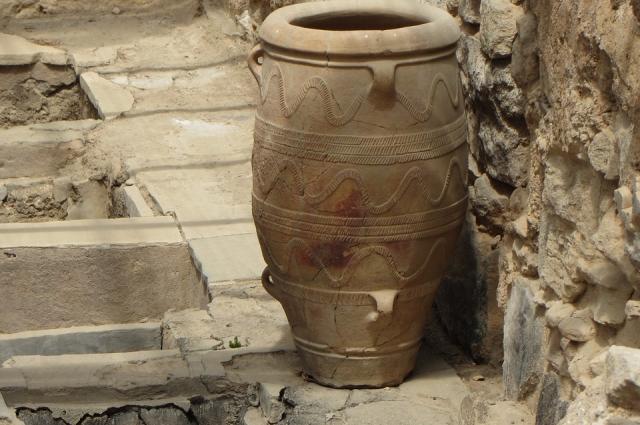 По керамике можно установить представление об эпохе.