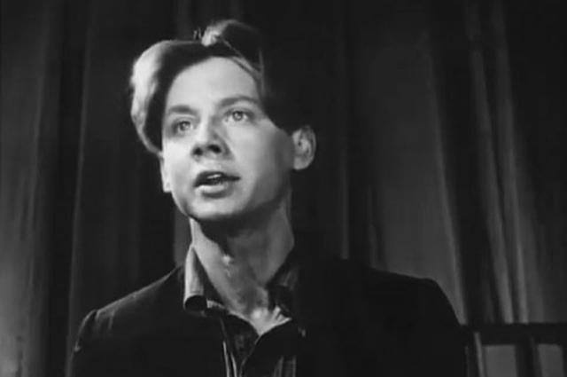 Олег Табаков в фильме «Тугой узел» (1956, 1957)