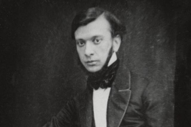 Александр Сухово-Кобылин. Дагеротип 1850-х годов.