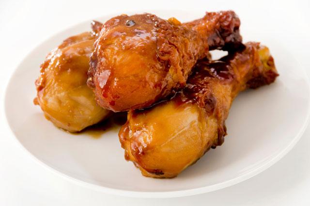 Жареная курица в майонезе