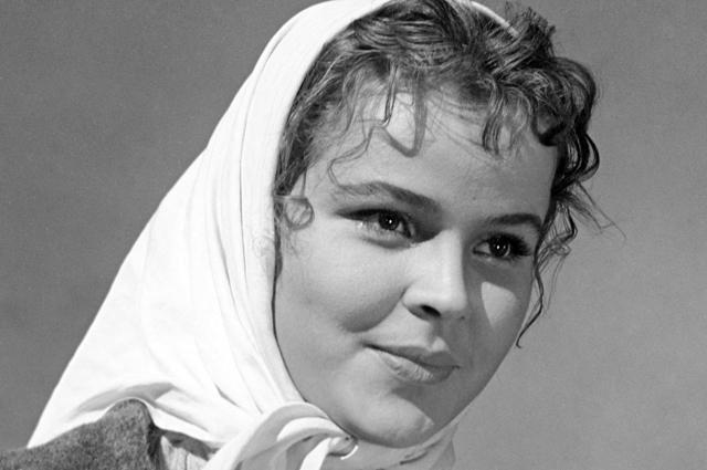 Тамара Семина в роли Катюши Масловой. 1960 г.