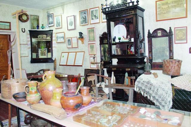 Об истории села можно узнать в местном музее