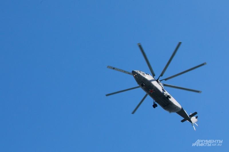 Ми-26 над Екатеринбургом