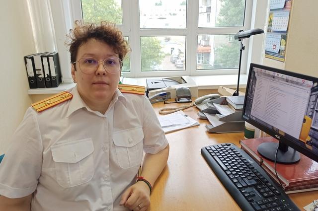 Рябушкина следователь-криминалист