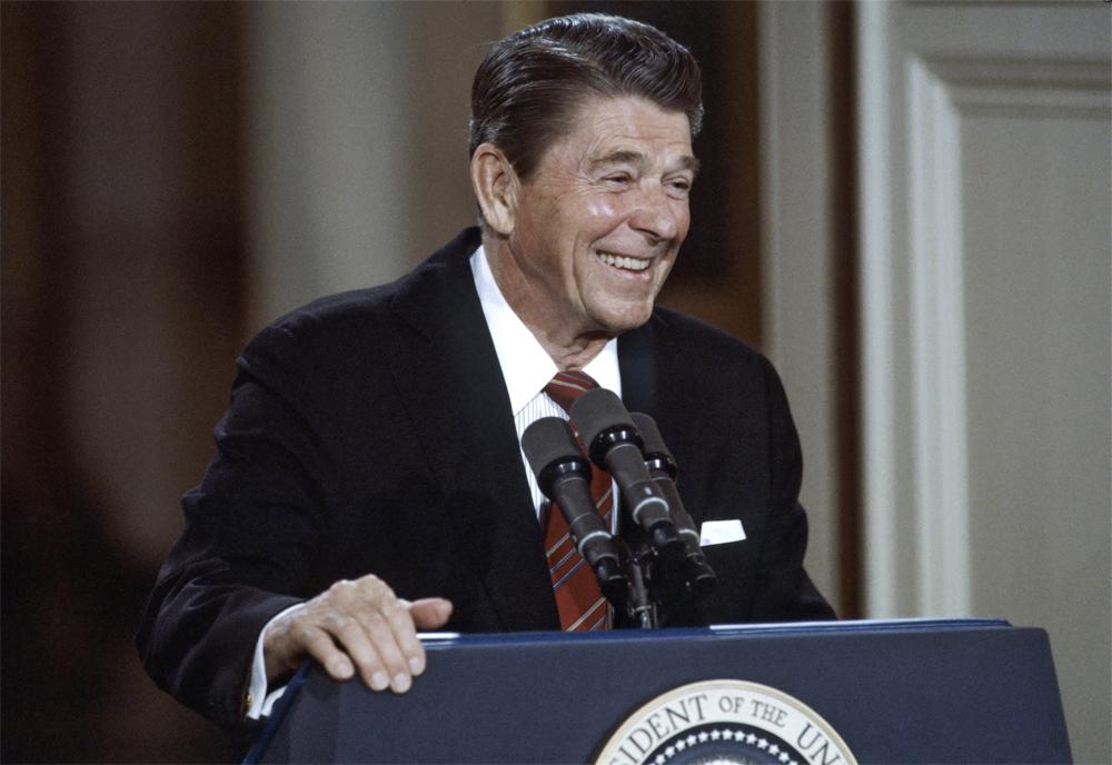 Рональд Рейган, 1984 г.
