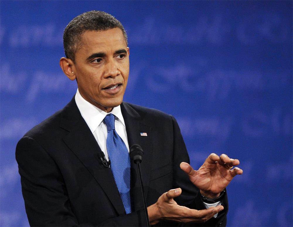Барак Обама, 2012 г.