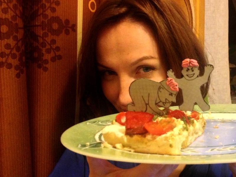 Этот пирог Анна назвала Достоевский отдыхает