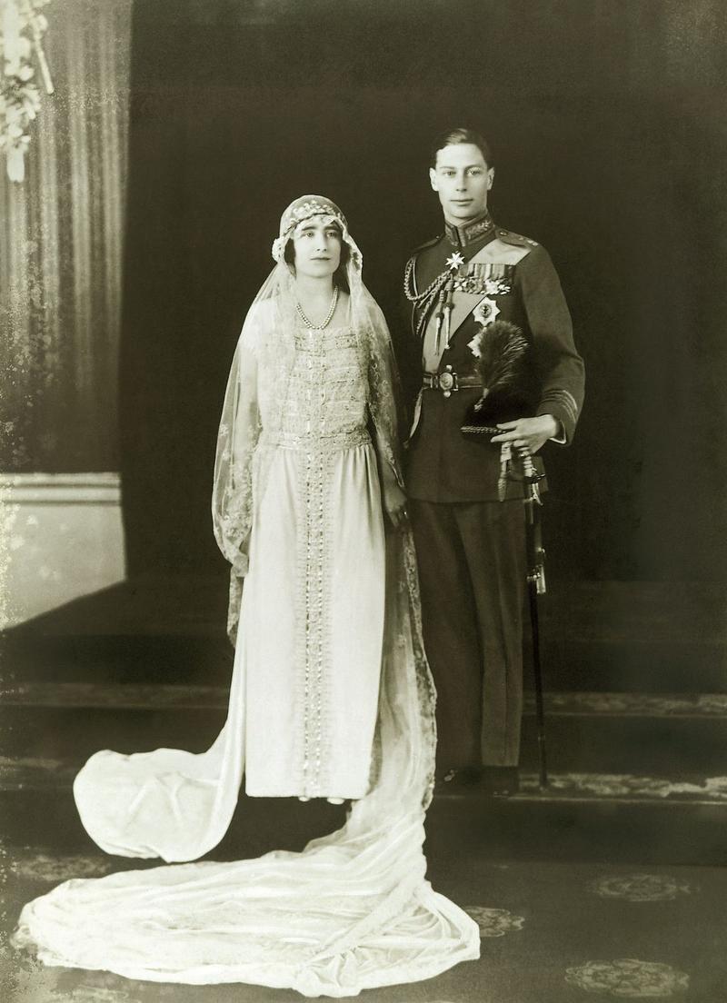 Бракосочетание Елизаветы и принца Альберта 26 апреля 1923 года