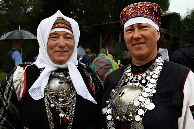 Эстонские сето на фестивале в Сигово.