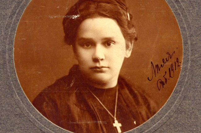 Елизавета Дмитриева превратилась в испанку Черубину де Габриак.