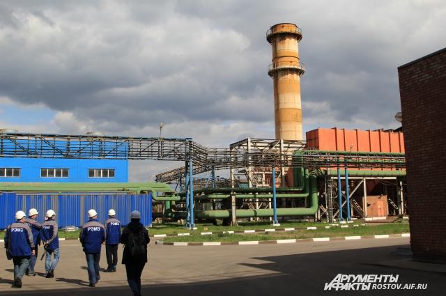 На территории РЭМЗ работают современные установки по очистке вредных веществ выработки производства.