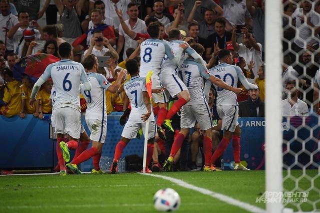 Сборная Англии - сборная России